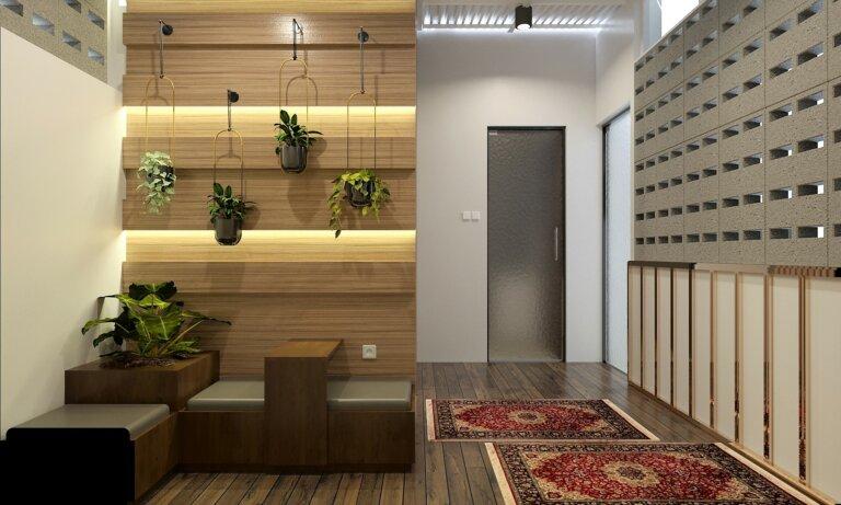 balkon minimalis modern