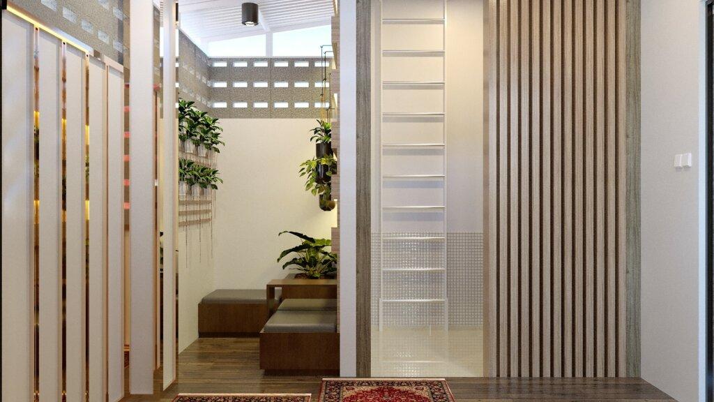 desain balkon minimalis modern