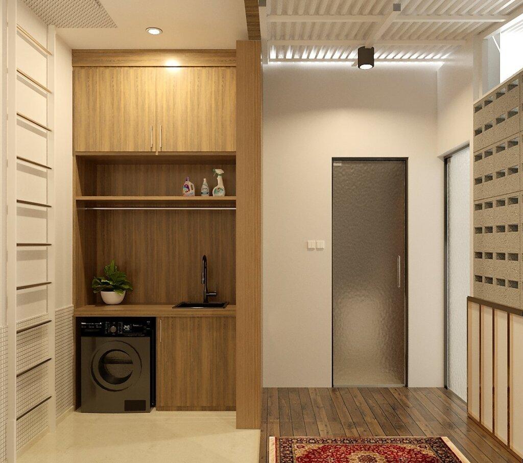 interior balkon minimalis modern