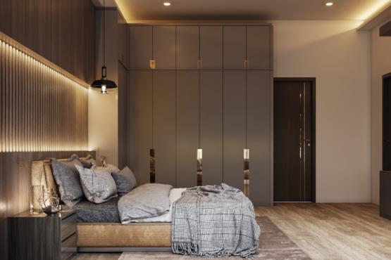 kamar tidur modern-kontemporer