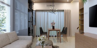 desain ruang tengah minimalis modern