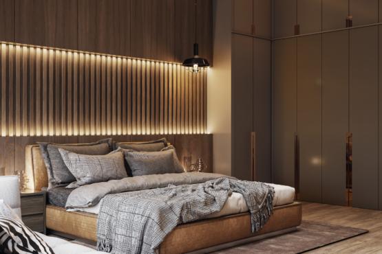 desain kamar tidur modern-kontemporer