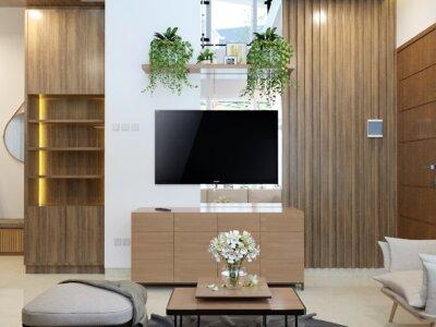 ide ruang tengah minimalis modern