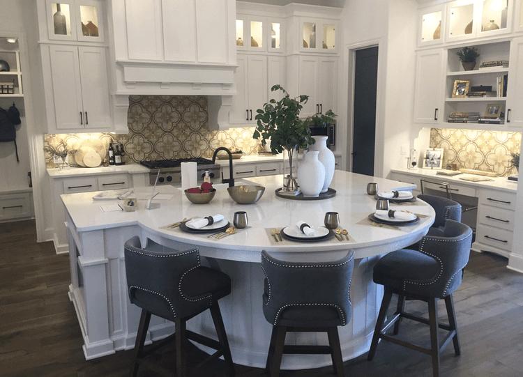 model meja dapur minimalis dengan meja makan